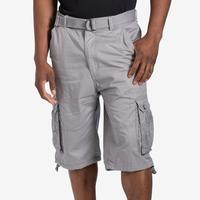 EBL Men's Belted Cargo Shorts
