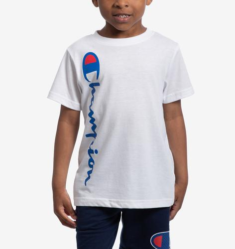 Champion Vertical Script T-Shirt
