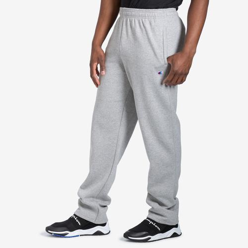 Champion Powerblend Sweats Open Bottom Pants