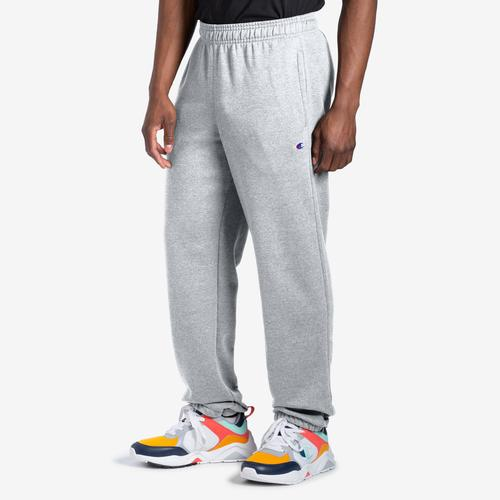 Champion Men's Powerblend Sweats Relaxed Bottom Pants