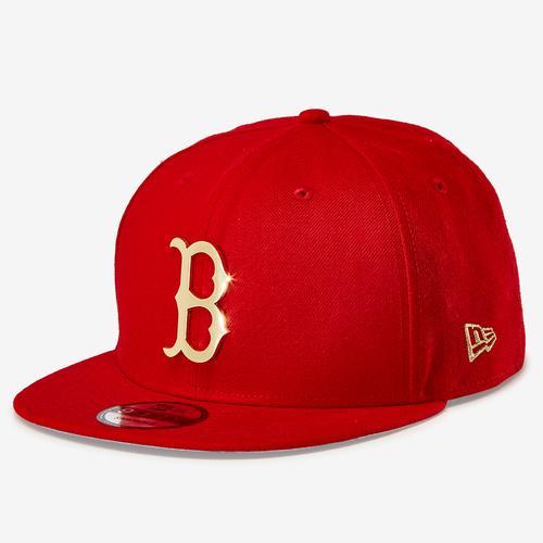 New Era Red Sox 9Fifty Snapback Metal Badge