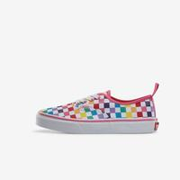 Vans Boy's Preschool Rainbow Classic Checker Slip-On