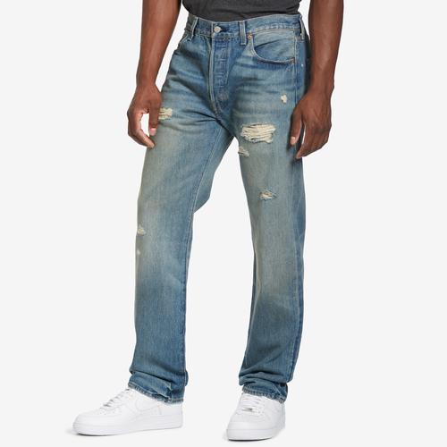 Levis 501 Torn Up Jeans
