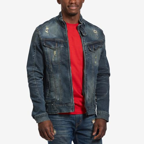 Smoke Rise Moto Denim Jacket
