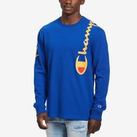 Champion Life Long-Sleeve Tee, Script Logo