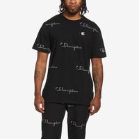Champion Life Tee, All-Over Script Logo
