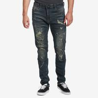 Smoke Rise Men's 5 Pocket Knee Jeans