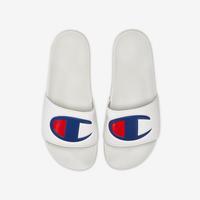 Champion Life Slide Sandals, Repeating Logo