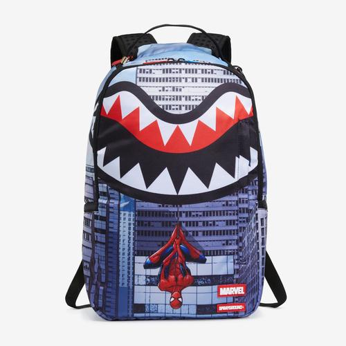 Sprayground Upside Down Spiderman Backpack