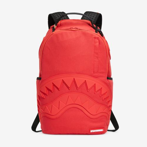 Sprayground Red Ghost Rubber Shark Backpack