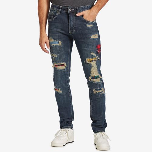 Smoke Rise Men's Patch Jeans