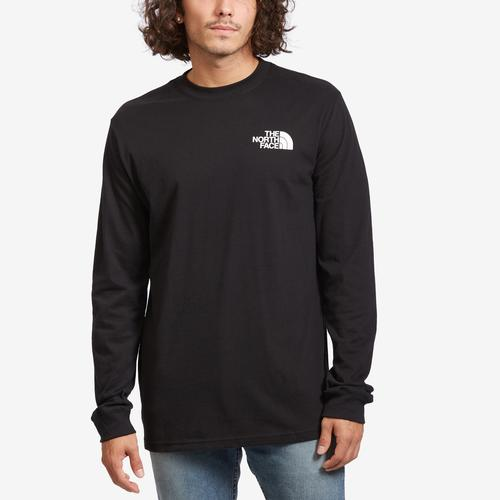 The North Face Long Sleeve Red Box Tee