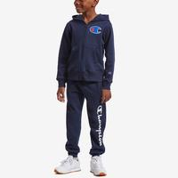 Champion Boy's Preschool Full Zip Hoodie And Jogger Se