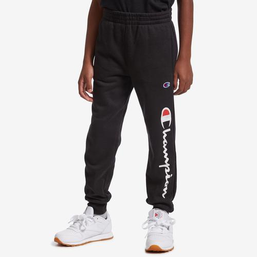Champion Fleece Heritage Joggers, Vertical Logo