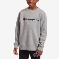 Champion Boy's Preschool Fleece Sweatshirt, Script Logo