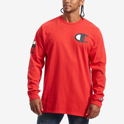 Champion Life Long-Sleeve Tee, Big C Logo