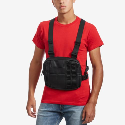 EPITOME Men's Vegan Leather Chest Bag