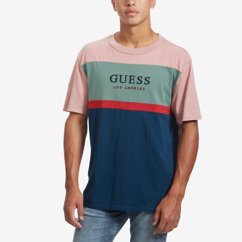 Guess Men's X J Balvin Oversized Triangle Logo Tee