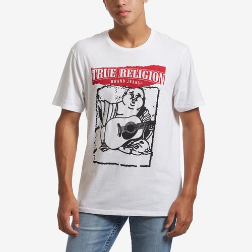 True Religion Men's Painted Buddha Tee