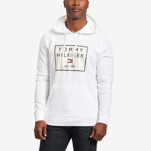 Tommy Hilfiger Men's Box Logo Fleece Hoodie