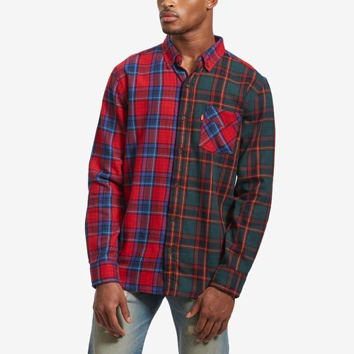 Levis Men's Krensky Flannel Patch Shirt
