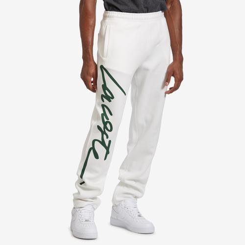Lacoste Men's Unisex LIVE Signature Textured Fleece Sweatpants