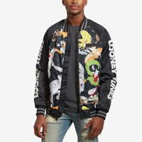 Members Only Men's All Over Mash Print Bomber Jacket