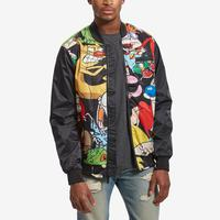 MEMBERS ONLY All Over Mash Print Bomber Jacket
