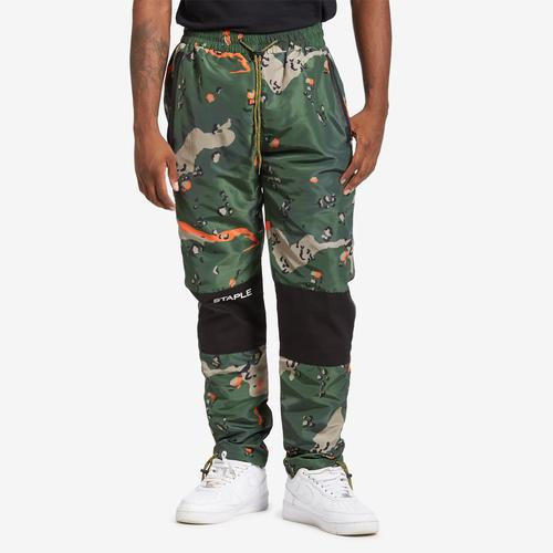 Staple Camo Nylon Pant