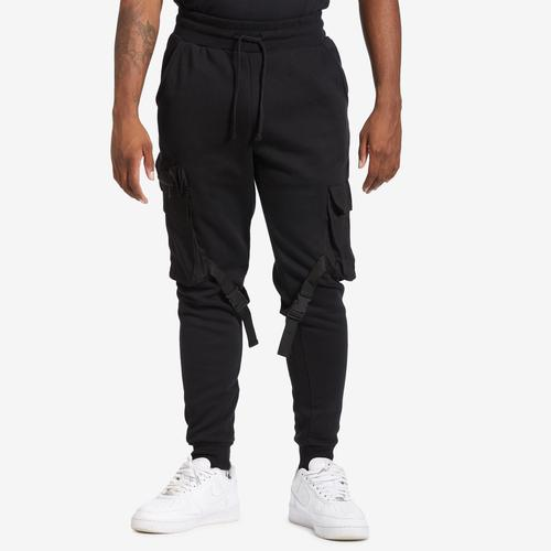 REBEL MINDS Men's Fleece Cargo Jogger