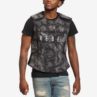 REBEL MINDS Denim Tactical Vest