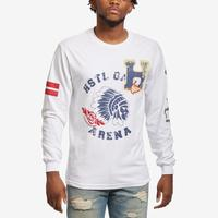 Hustle Gang Men's H-Leaf Long Sleeve T-Shirt