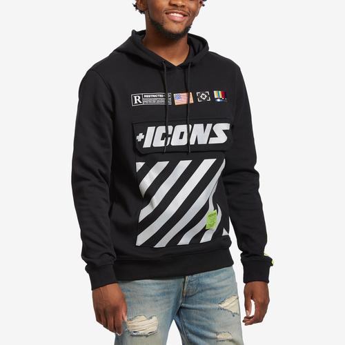 Hudson Men's Icons Hazard Rig Hoody