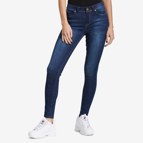 YMI Junior's WannaBettaButt High-Rise Denim Skinny Jean