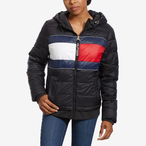 Tommy Hilfiger Sport Quilted Colorblock Jacket