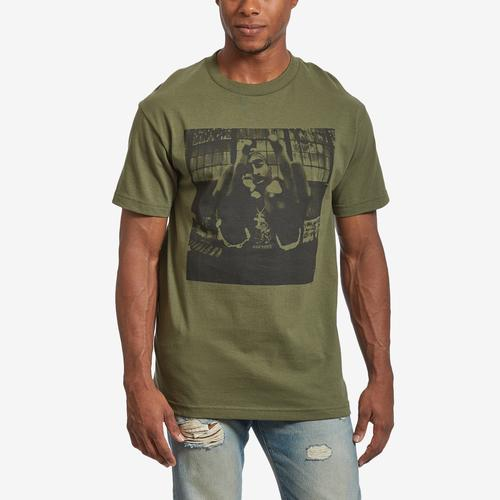 BRAVADO Men's Tupac Bold Army T-Shirt