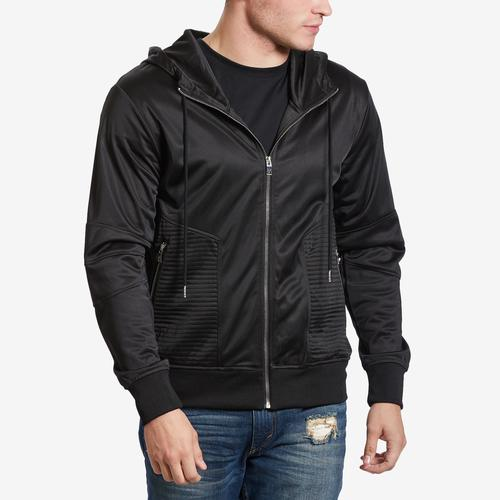 REBEL MINDS Tricot Moto Track Jacket