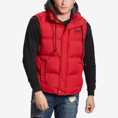 Whistler + Co Men's Rocky Bubble Hooded Vest