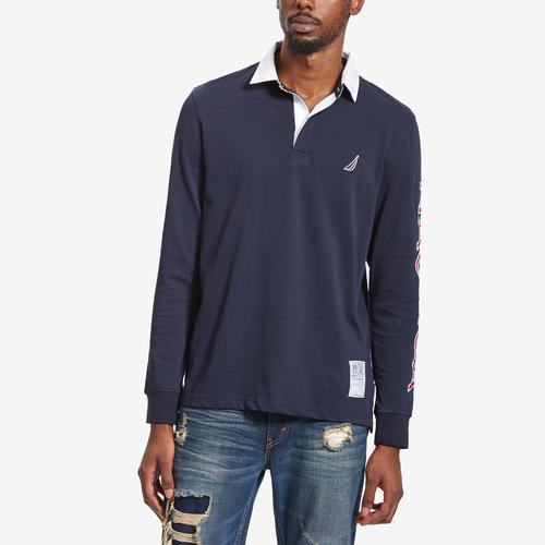 Nautica Nautica Long Sleeve Arm Logo Rugby
