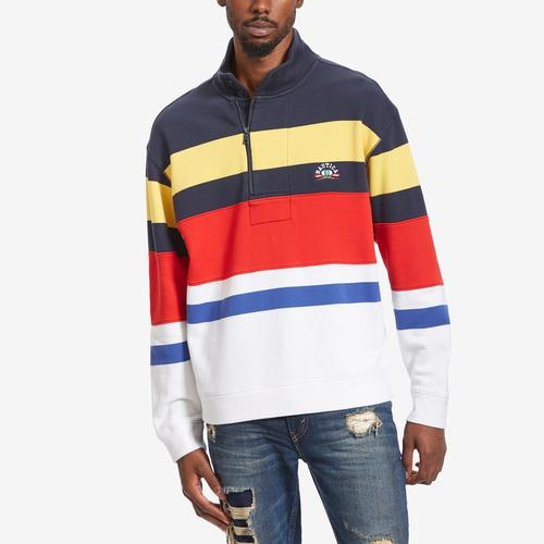 Nautica French Terry Stripe Pullover
