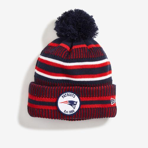New Era Patriots Sport Knit Home Hat