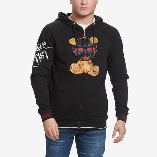 BKYS Men's Stickup Artist Full Zip Hoodie