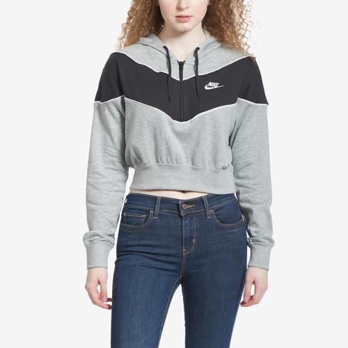 Nike Women's Sportswear Heritage 1/2-Zip Top
