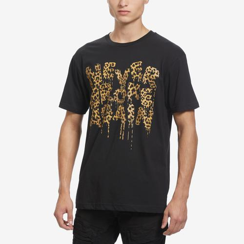 NEVER BROKE AGAIN Men's Drip Cheetah T-Shirt