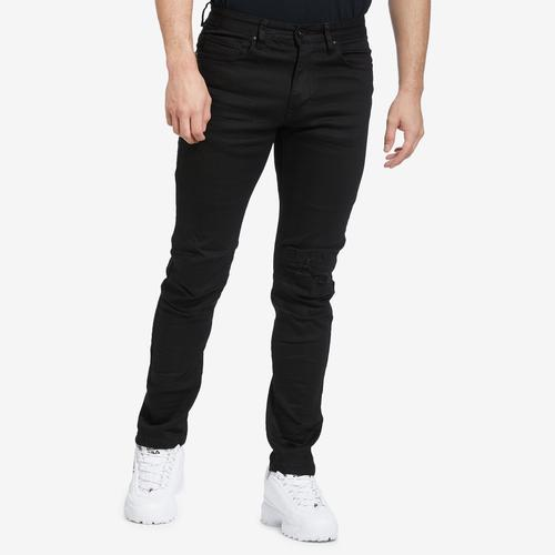 Smoke Rise Men's 3D Knee Jeans