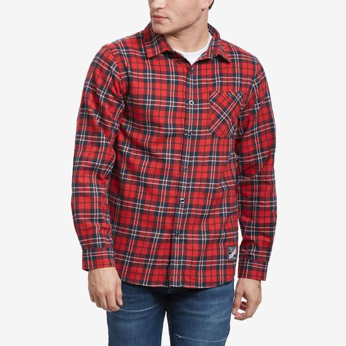 Smoke Rise Men's Plaid Flannel Shirt