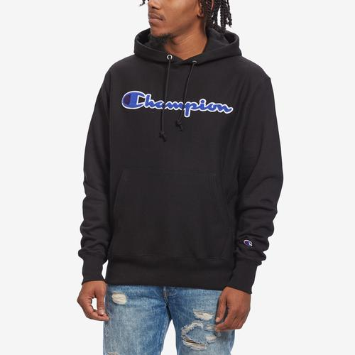 Champion Life Reverse Weave Chenille Logo Pullover Hoodie