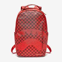 Sprayground Sharks in Paris (Red Checkered Edition) Backpack