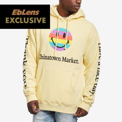 Chinatown Market Smiley Tech Hoodie