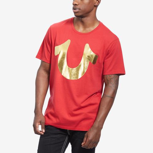 True Religion Men's Foil Horseshoe Tee
